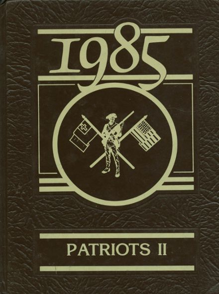 1985 Victory Christian Academy Yearbook Cover