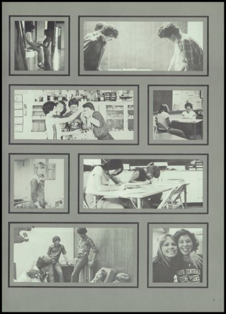 1980 North Central High School Yearbook Page 9