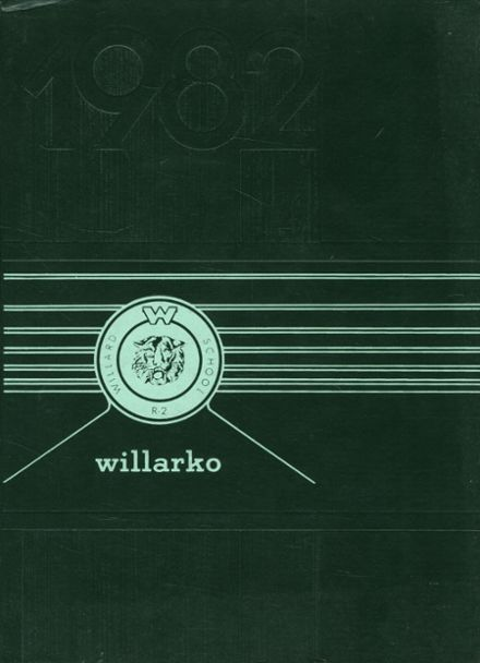 1982 Willard High School Yearbook Cover