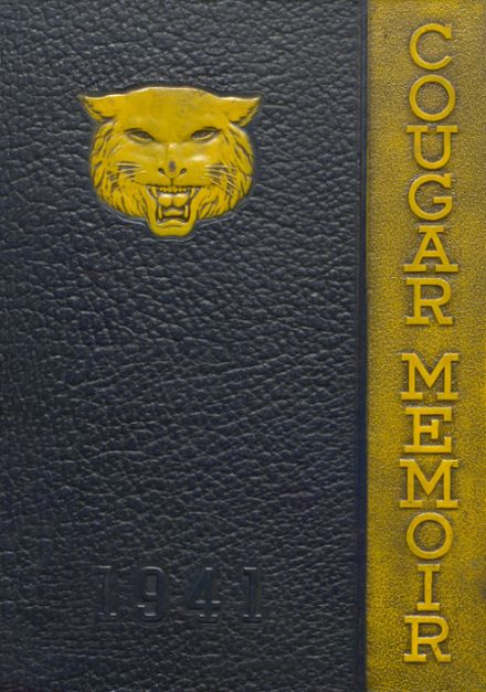 1941 Charleroi High School Yearbook Cover