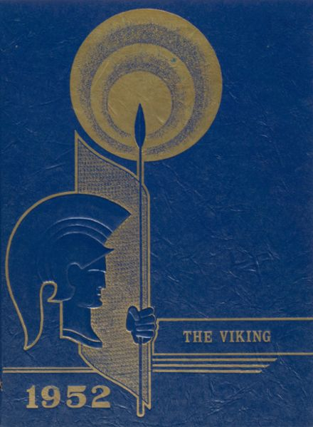 1952 Milan High School Yearbook Cover