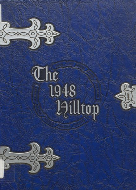 1948 Burnt Hills-Ballston Lake High School Yearbook Cover