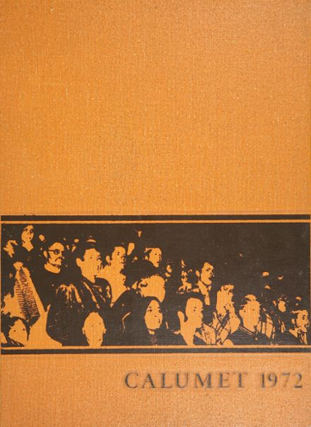 1972 Clairemont High School Yearbook Cover