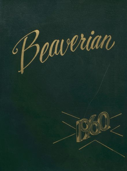 1960 Beaver River Central High School Yearbook Cover