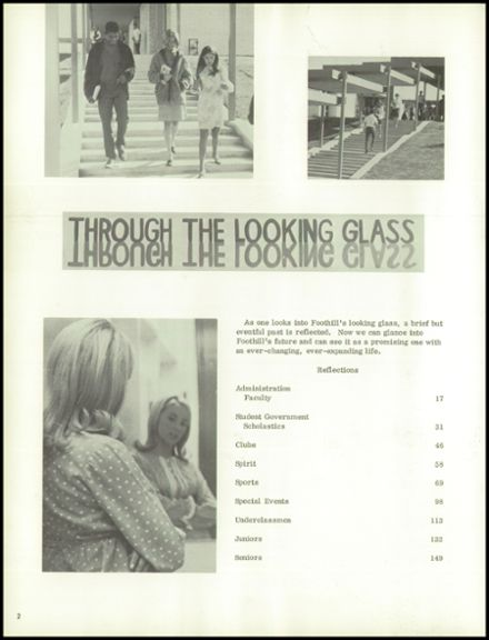 1968 Foothill High School Yearbook Page 6