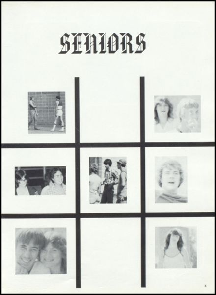 1982 Granton High School Yearbook Page 9