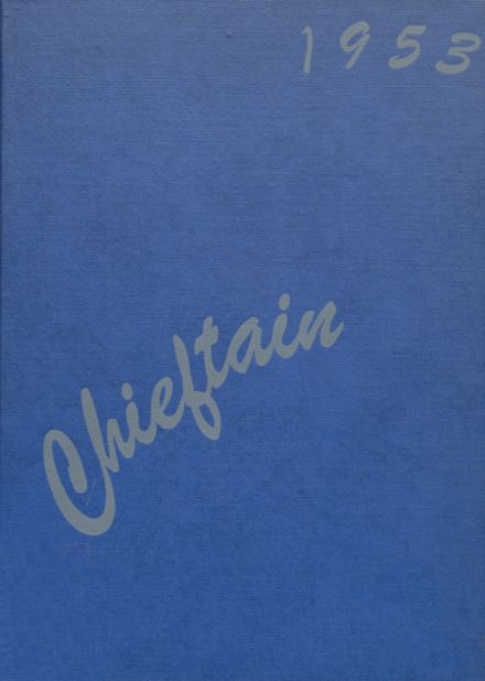1953 White Cloud High School Yearbook Cover
