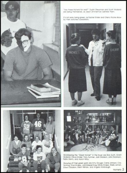 1992 Eureka High School Yearbook Page 7