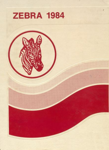 1984 Claremore High School Yearbook Cover