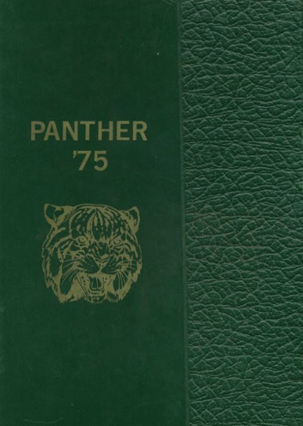 1975 Peoria High School Yearbook Cover