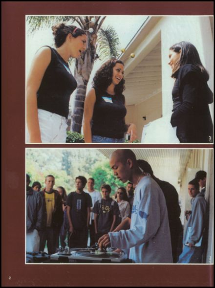 2002 San Dieguito High School Yearbook Page 6