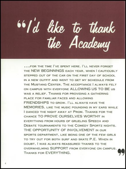 2002 San Dieguito High School Yearbook Page 8