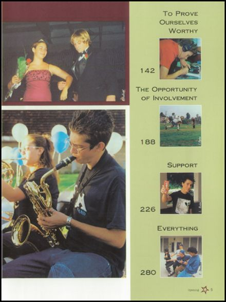 2002 San Dieguito High School Yearbook Page 9