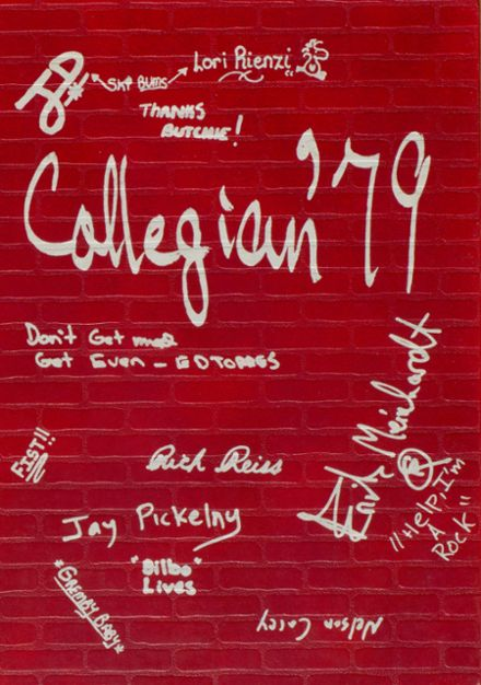 1979 Collegiate School Yearbook Cover