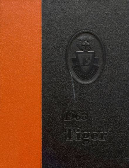 1968 Edwardsville High School Yearbook Cover