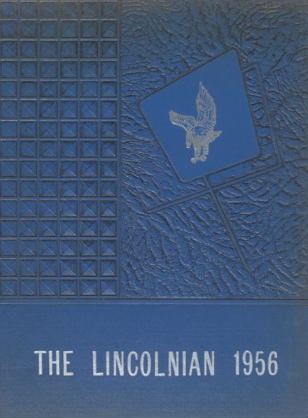 1956 Lincoln Academy Yearbook Cover