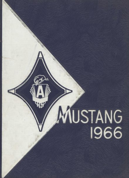 1966 Argentine High School Yearbook Cover
