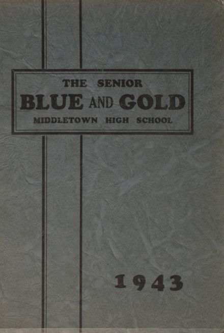 1943 Middletown Area High School Yearbook Page 1