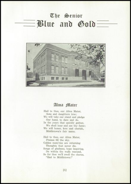 1943 Middletown Area High School Yearbook Page 7