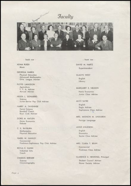 1944 Arlington High School Yearbook Page 6