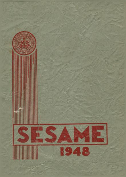 1948 South Hills High School Yearbook Cover