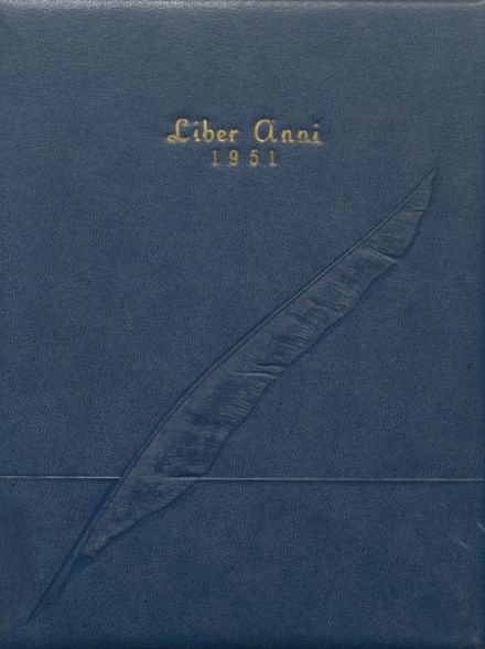 1951 Cohocton Central High School Yearbook Cover