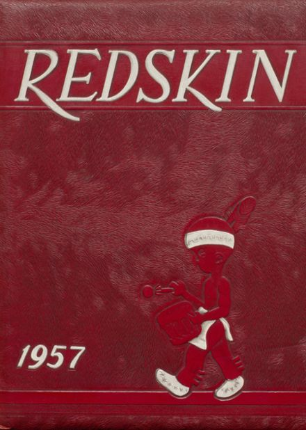 1957 Union High School Yearbook Cover