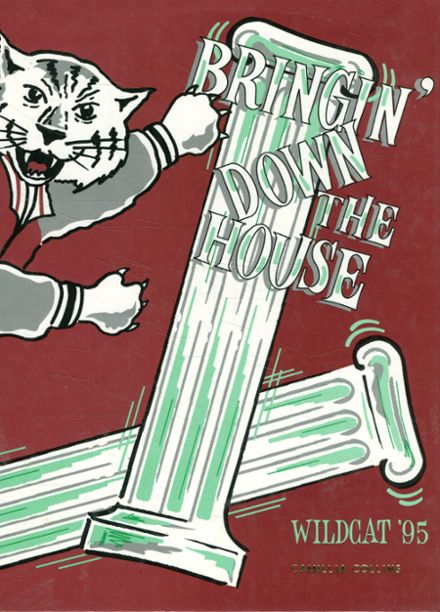 1995 Whitehouse High School Yearbook Cover