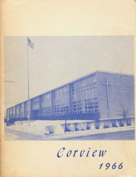 1966 Sacred Heart High School Yearbook Cover