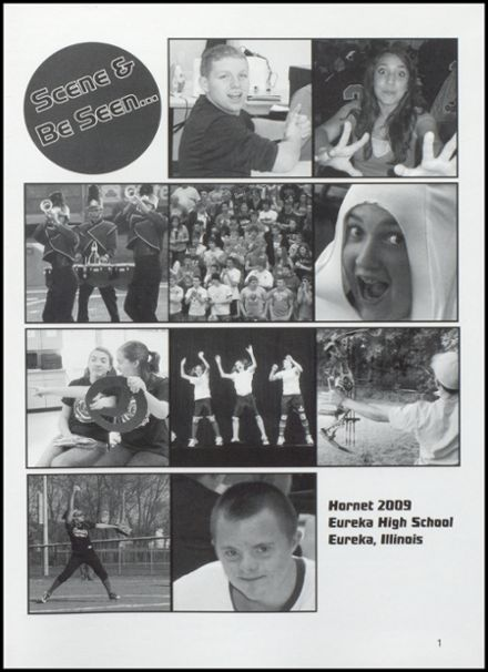 2009 Eureka High School Yearbook Page 5