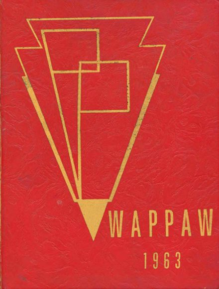 1963 Paw Paw High School Yearbook Cover