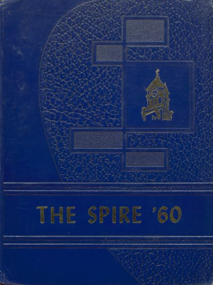 1960 Woodstock Academy Yearbook Cover