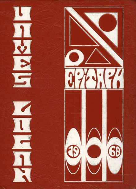 1968 Logan High School Yearbook Cover