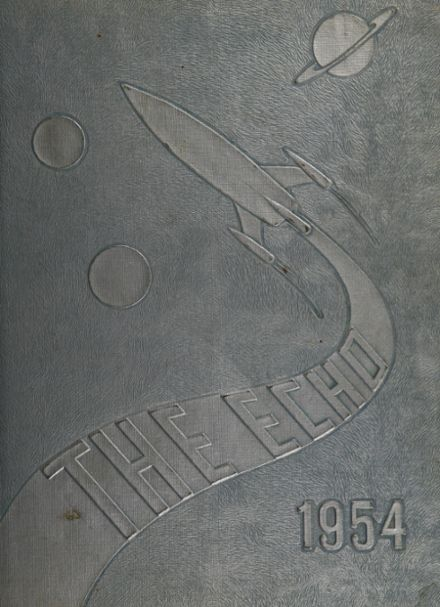 1954 Passaic High School Yearbook Page 1