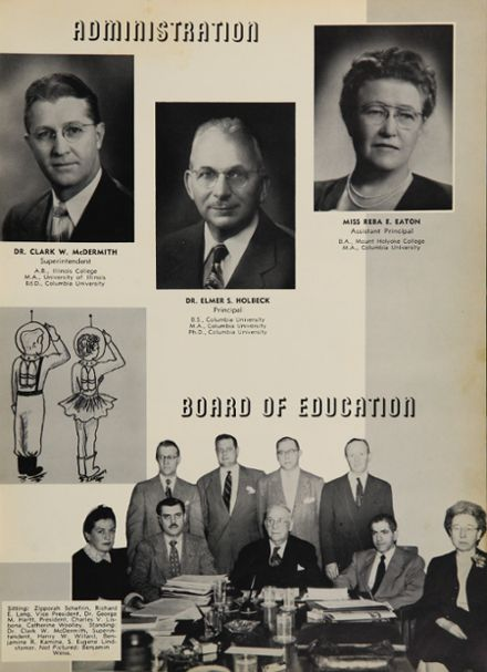 1954 Passaic High School Yearbook Page 9