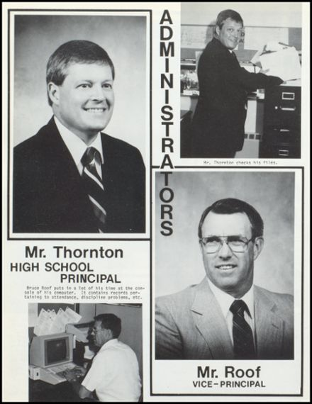 1991 Knoxville High School Yearbook Page 8