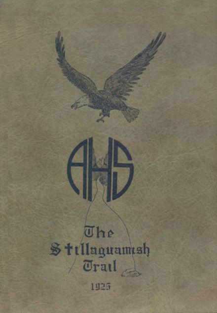 1925 Arlington High School Yearbook Page 1