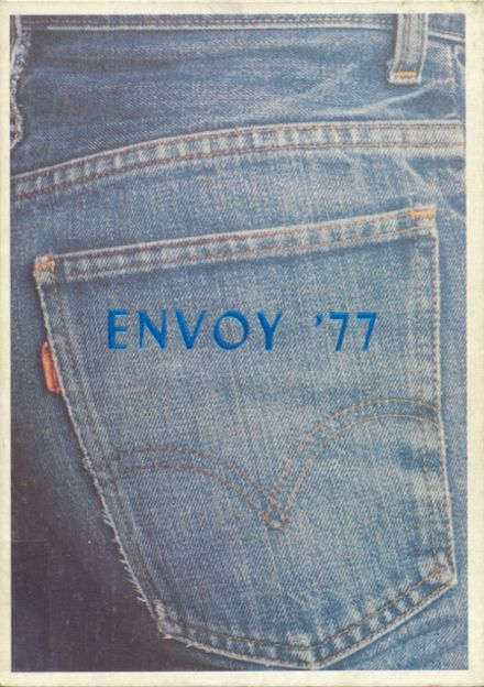 1977 L'Anse High School Yearbook Cover