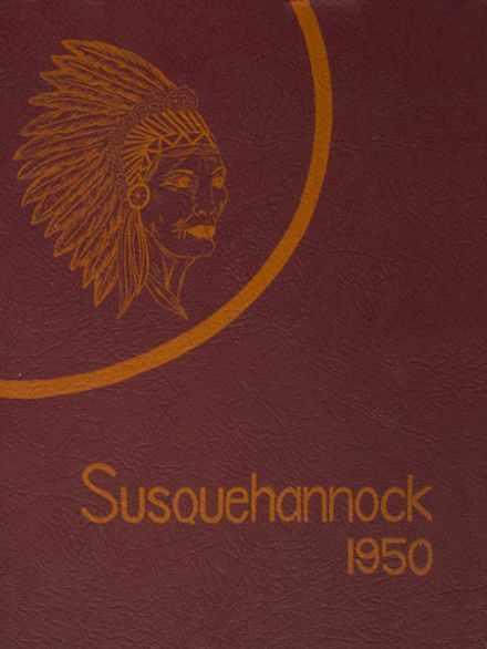 1950 Columbia High School Yearbook Cover