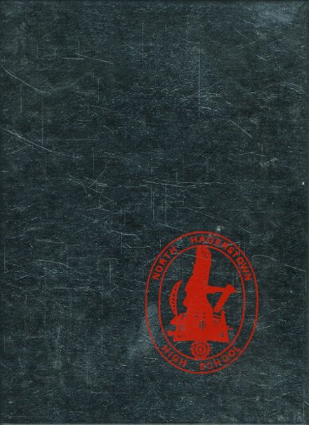 1973 Hagerstown High School Yearbook Cover