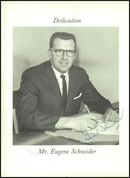 1963 Racine Lutheran High School Yearbook Page 6