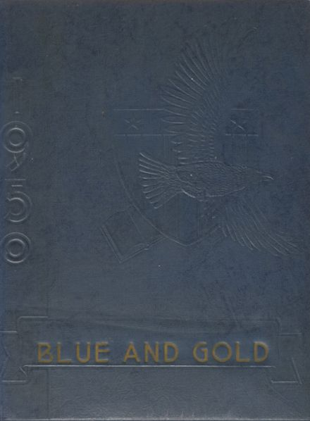 1950 Saegertown High School Yearbook Cover