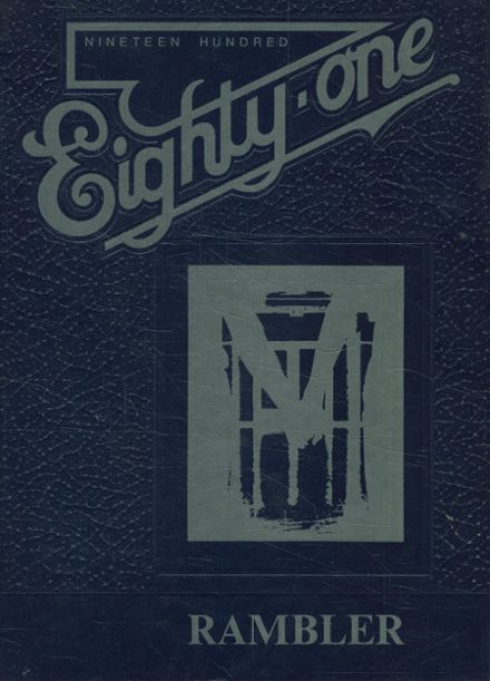 1981 Brown County High School Yearbook Cover