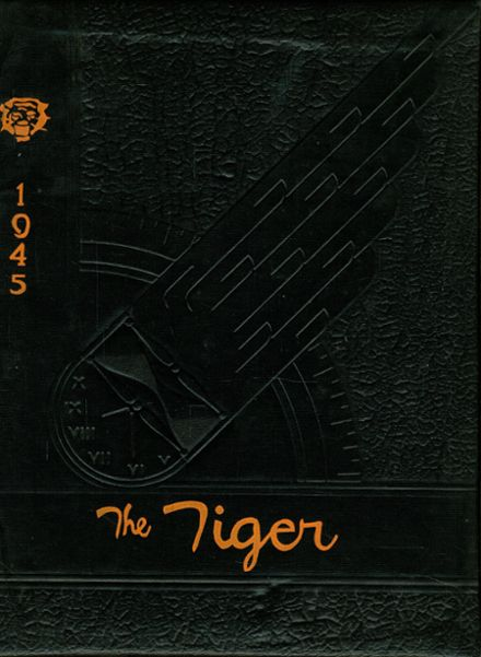 1945 Texas High School Yearbook Cover
