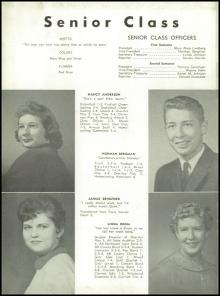 1960 Odebolt-Arthur High School Yearbook Page 8