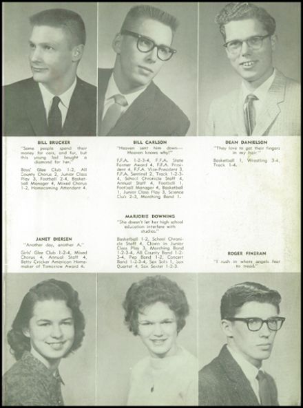 1960 Odebolt-Arthur High School Yearbook Page 9