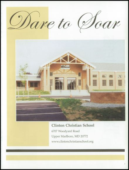 2003 Clinton Christian School Yearbook Page 5