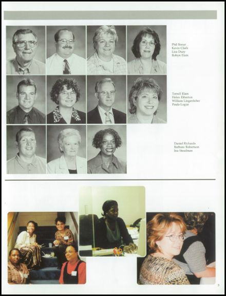 2003 Clinton Christian School Yearbook Page 9