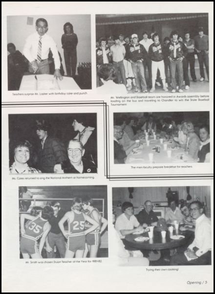 1982 Stuart High School Yearbook Page 9