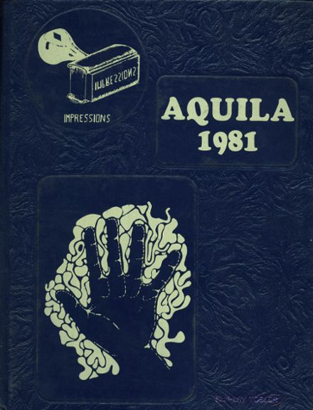 1981 Boulder City High School Yearbook Cover